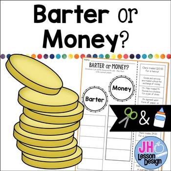 Barter or Money? Cut and Paste