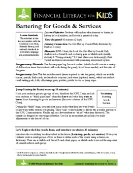 Lesson 2: Bartering for Goods & Services