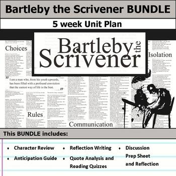 Bartleby the Scrivener Unit Bundle