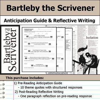 Bartleby the Scrivener - Anticipation Guide & Reflection