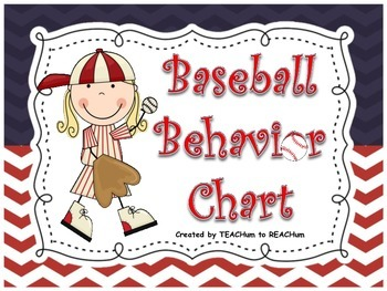 Basball Behavior Chart