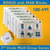 Base 10 Bingo 100-499 – 2nd Grade Place Value