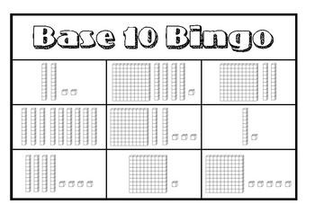 Base 10 Bingo (Hundreds, Tens, Ones)