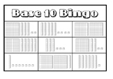 Base 10 Bingo (Hundreds, Tens, Ones)