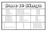 Base 10 Bingo (Tens and Ones)