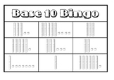 Base 10 Bingo (Tens and Ones)