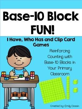 Base 10 Block Activities