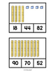 Base 10 Block-Count and Clip (Place Value Practice)