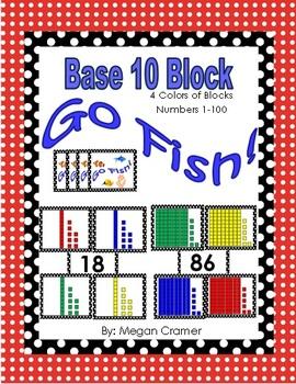 Base 10 Block Go Fish Game