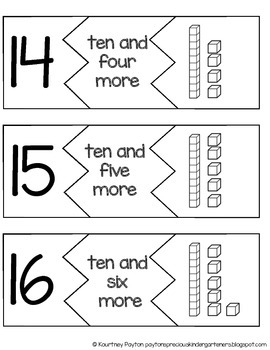 Base 10 Block Puzzles K.NBT.1