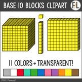 Base 10 Blocks Clipart