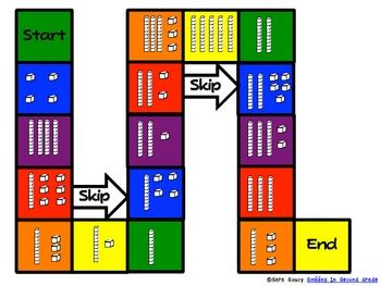 Base-10 Blocks Games