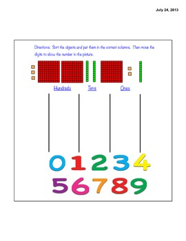Base 10 Blocks and Place Value