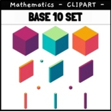 Base 10 Clip Art Blocks Colourful Isometric 3D Block Clipa