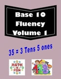 Base 10 Fluency volume 1 cut and paste