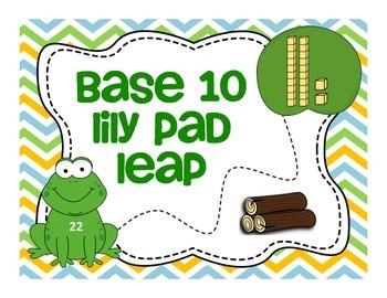 Base 10 Lily Pad Leap Math Center