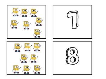 Base 10 Matching Cards