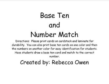 Base 10 Number Game