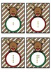 Base 10 Number Match- Christmas Reindeer Theme