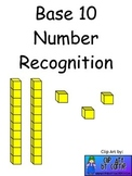 Base 10 Number Recognition