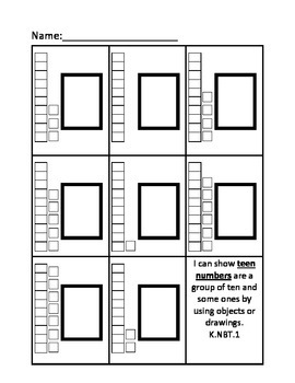 Base 10 Numbers Worksheet / Printable