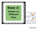 Base 10- Numbers in Different Ways