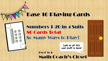 Base 10 Playing Cards