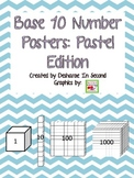 Base 10 Posters:  Pastel Edition