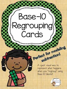 Base-10 Regrouping Cards