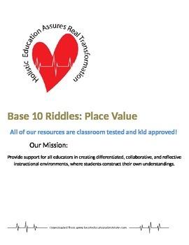 Base 10 Riddles