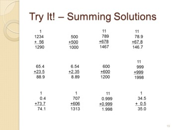 Base 10 - Sorting and Counting