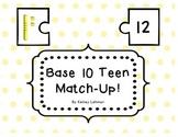 Base 10 Teen Match Up!
