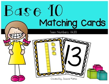 Base 10 Teen Number Match