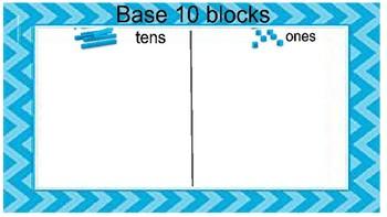 Base 10 block mat