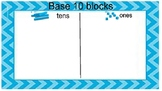 Base 10 block mat