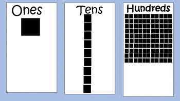 Base 10 mats-Bilingual