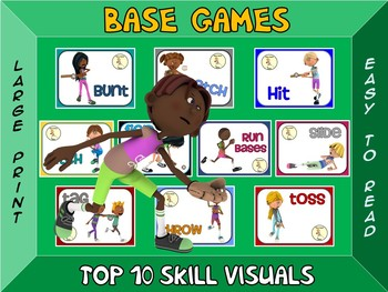 Base Games- Top 10 Skill Visuals- Simple Large Print Design
