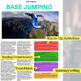 Base Jumping - ESL Reading w/ FULL Lesson Plan.  No Prep Needed!