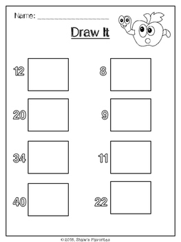 Base Ten/1.NBT.2 Worksheets