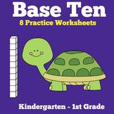 Base Ten Blocks Worksheets Printable