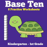 Base Ten Blocks Worksheets Printable