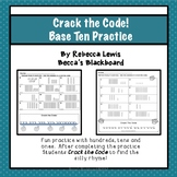 Base Ten Place Value Worksheets Practice 0-200