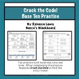Base Ten Place Value Worksheets Practice 0-200