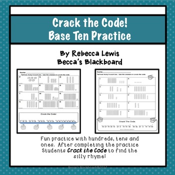 Base Ten (Place Value) Worksheets Practice 0-200