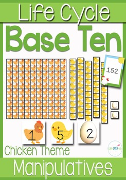 Base-Ten Activities for Place Value: Chicken Life-Cycle Fa