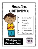 Base Ten Addition Pack