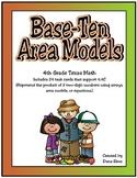 Base-Ten Area Models (TEKS 4.4C)