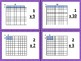 Multiplication Area Model (Arrays) Flashcards Activity Small Group Centers