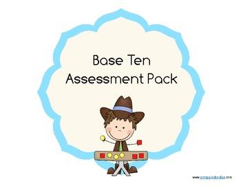 Base Ten Assessment Pack