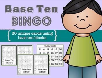 Base Ten BINGO Card Set